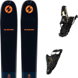 BLIZZARD ZERO G 105 BLUE/ORANGE 22 + ATOMIC SHIFT 13 MNC N BLACK/GOLD 110 21