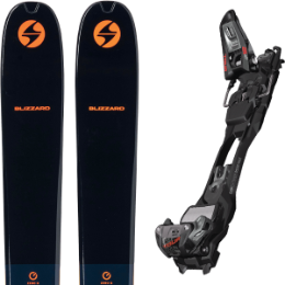 BLIZZARD ZERO G 105 BLUE/ORANGE 22 + MARKER F12 TOUR EPF BLACK/ANTHRACITE 21