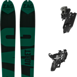 Pack ski ZAG ZAG ADRET 81 20 + ATOMIC BACKLAND PURE BLACK/GUNMETAL 21 - Ekosport