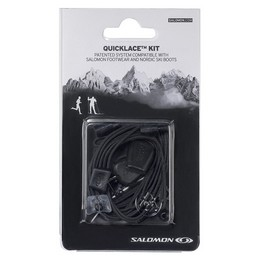 SALOMON QUICKLACE KIT BLACK 19