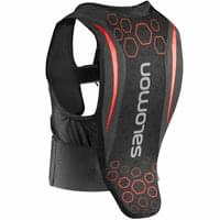 SALOMON FLEXCELL JUNIOR BLACK/RED 21