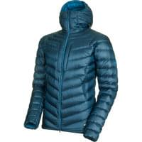 MAMMUT BROAD PEAK IN HOODED JACKET MEN WING TEAL/SAPPHIRE 21
