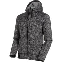 MAMMUT CHAMUERA ML HOODED JACKET MEN BLACK 21