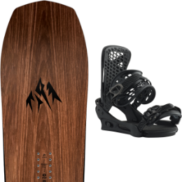 JONES FLAGSHIP 21 + BURTON GENESIS MATTY BLACK 20
