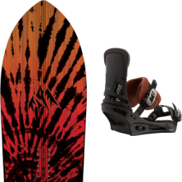 JONES STORM CHASER 21 + BURTON MALAVITA MARBLED LEATHER 21